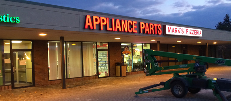 Appliance Parts Warehouse USA, Inc. 386 Grant Blvd Syracuse NY 13206
